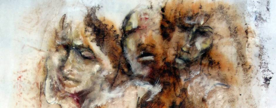 Monoprint, detail, 2012