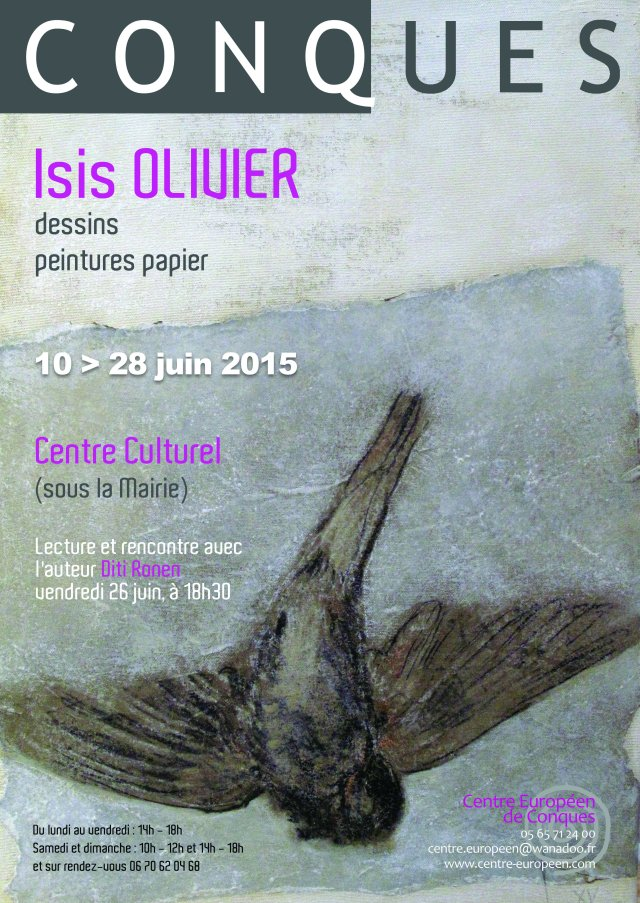 Affiche Isis Olivier-1