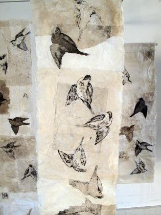 """Detail of my installation """"Birds"""""""