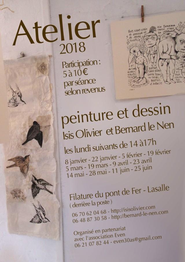 Affichette Isis et Bernard 2018