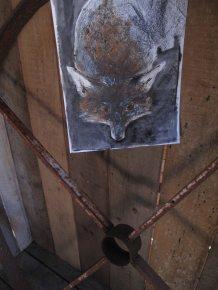 le renard et la roue